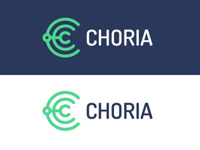 Choria logo c visual identity logo choria open source