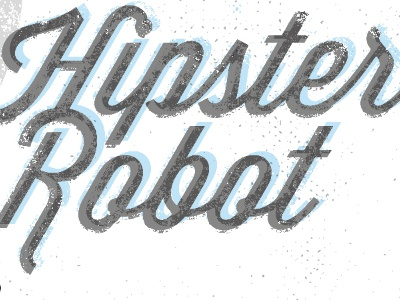 Hipster Robot done!