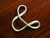 Rubber Band Ampersand
