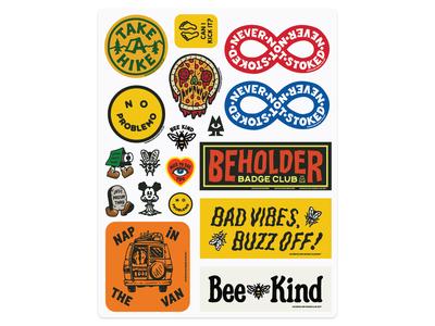 Beholder Stickerpack 01