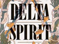 Delta Spirit fall 2012 poster