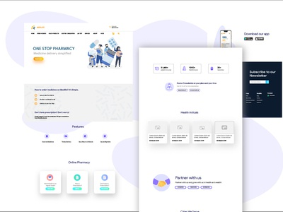 Medlife Redesign User Interface