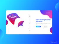 Jellyfish Landing page UI design