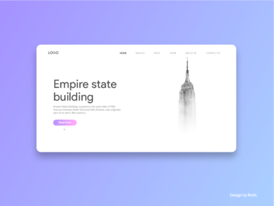 Empire state building landing page