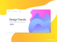 Design Trends landing page