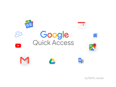 Google - Quick Access concept