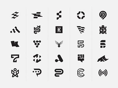 Various Logos symbols logotype branding logo flash logos