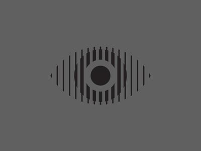 Eye iris pupil circle ball line eye