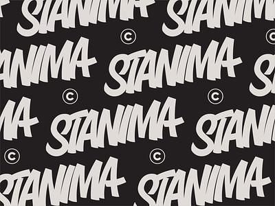 Stanima lettering stanima vintage sign painting brush chisel script marker tag workmark