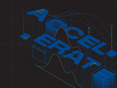 Accelerate blueprint technology tech data isometric build ecommerce accelerate