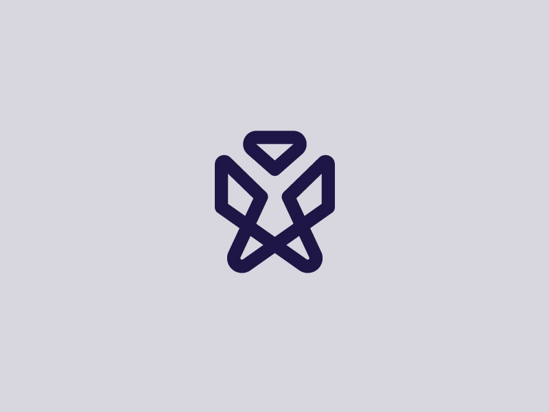 Undisclosed Project wings people person symbol logo angel