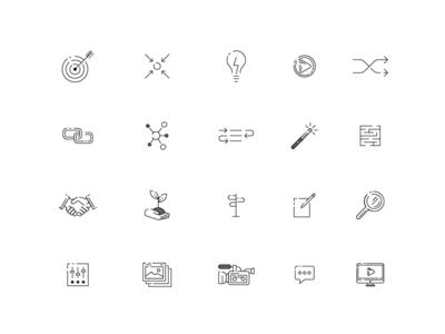 Pinkston Icon Set
