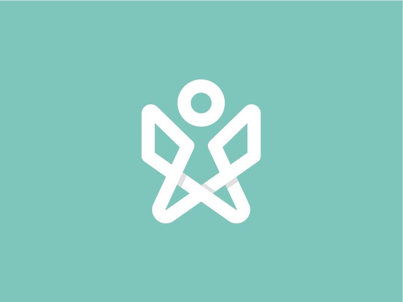SORSI Logo Symbol medical survivors health stick figure person human