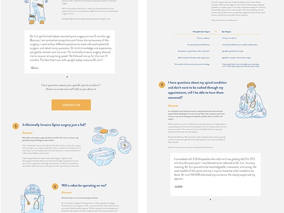 Dr Jae Lim 10 Reasons Landing Page website web illustration jae lim landing page