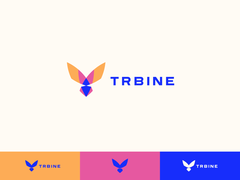 Trbine Early Concepts monogram helicopter seed logo stock trade securities revenue based securities stock market wind trbine