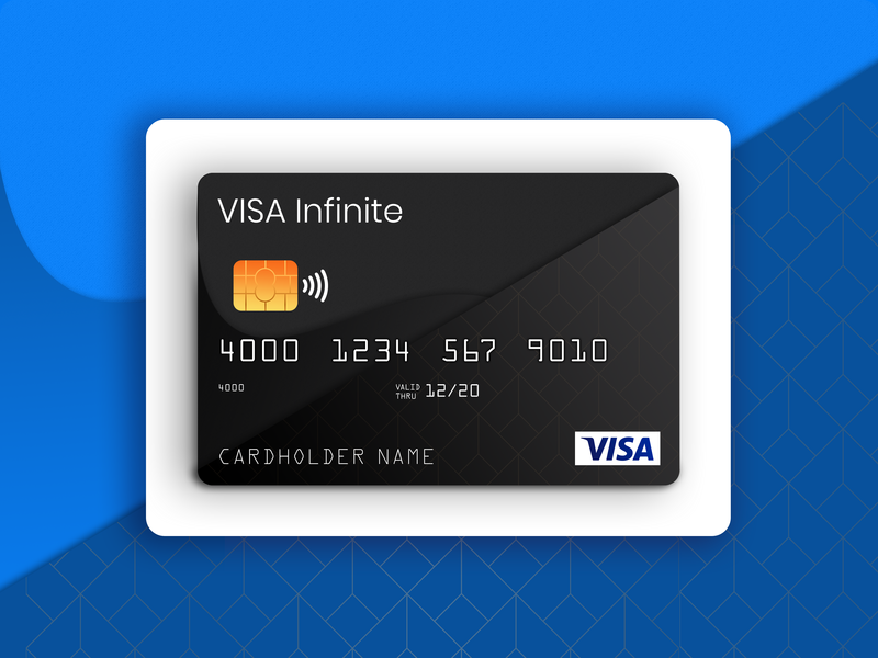 Visa Card design card design virtual card debit card card
