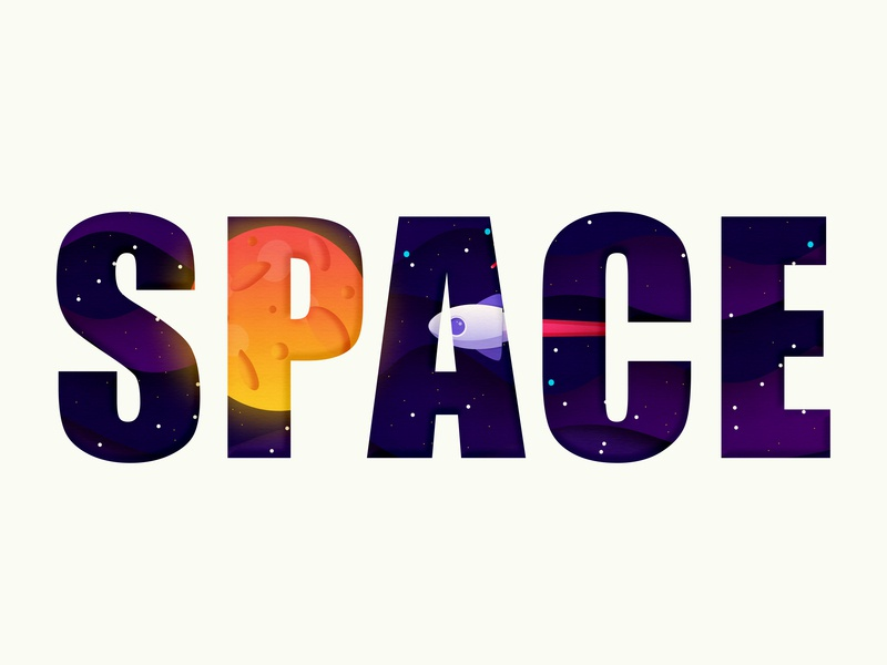 Space cosmos space graphic  design graphic design agency illuatration