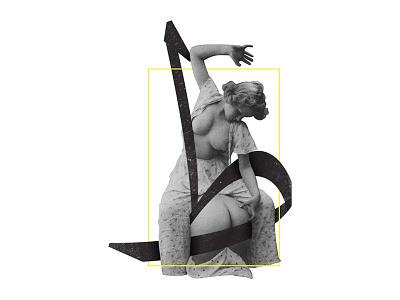 Tah - ط vintage erotic nude spank 36daysoftype arabic type lettering ar-tchallenge typography
