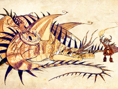 Dragon and Boy