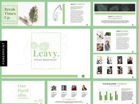 Leavy - Presentation Templates