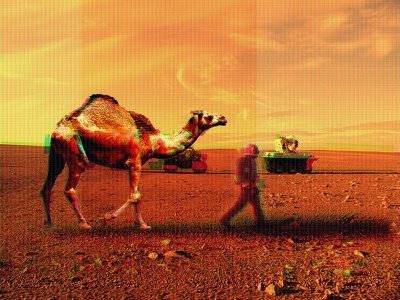 Mision On Mars editing camel mars