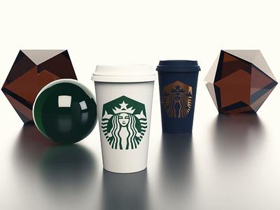 Starbucks render package design starbucks branding design logo branding