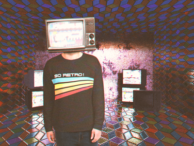 So Retro ! tv art classic concept retro style