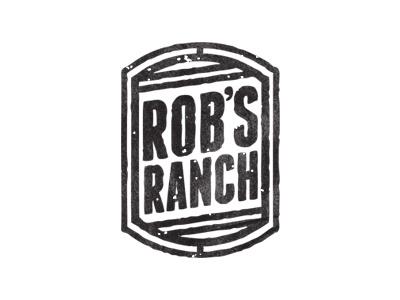 Rob's Ranch vector logo