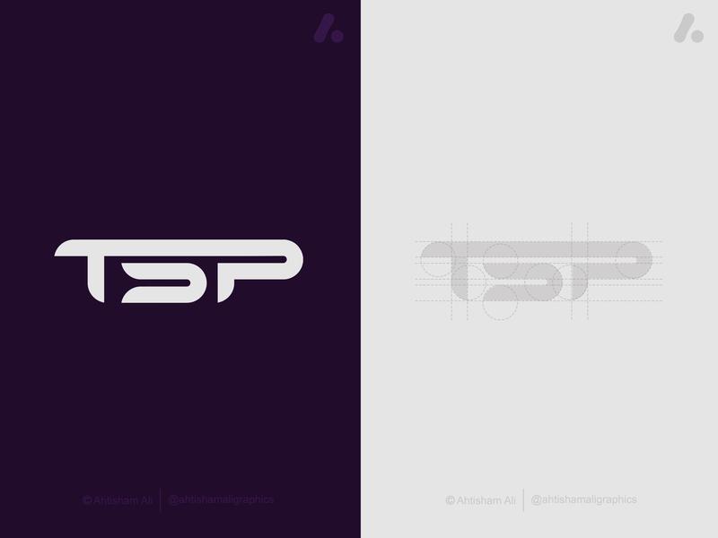 TSP letter logo tsp logo tsp letter logo letter logo tsp