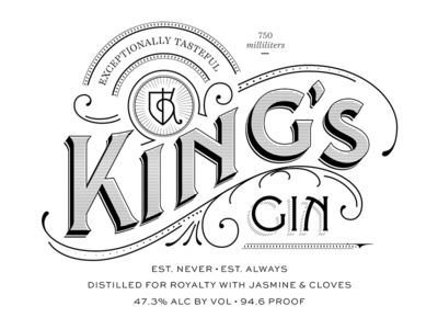 another exploration for King's Gin