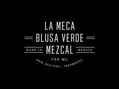 La Meca Outtakes design branding logotypes logotype logo serif mezcal agave lettering typography