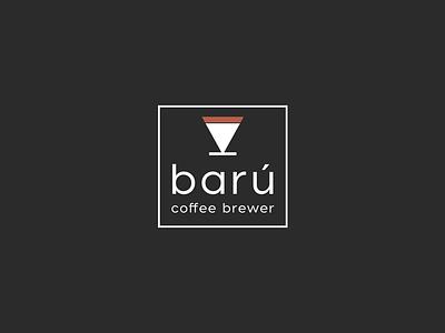 Barú  Logo graphic brand identity logo design