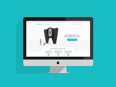 Revolver Web Hompage - Product & Subscription