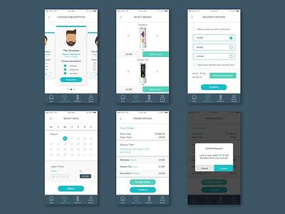 Revolver Subscription UI Flow subscription ui design illustration digital design
