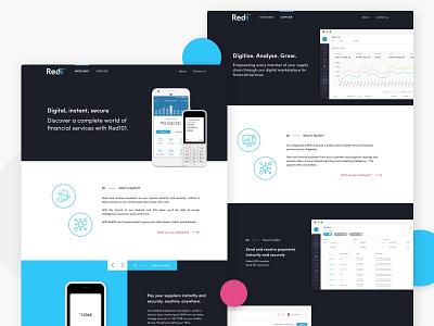Digital Financial Marketplace - Nigeria Web Offering fintech animaapp web design digital design ui design