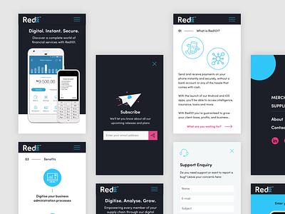 Digital Financial Marketplace - Nigeria Mobile responsive ux design mobile ui design digital design