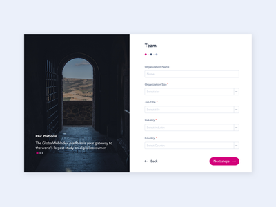 GlobalWebIndex - Profile design system webdesign dashboard ux design brand identity digital design ui design