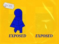 Exposed - Logo App Design 🖌️