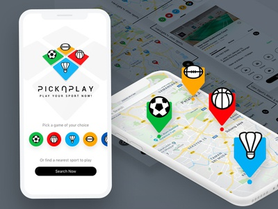 PickNPlay - Sports mobile app