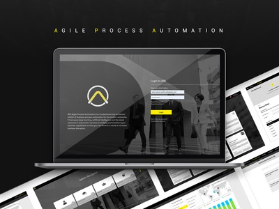 Agile Process Automation web design