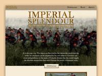 Imperial Splendour Website Homepage