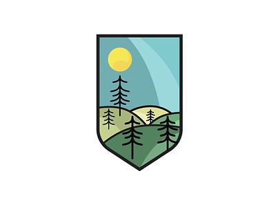 Travel More illustrator badge vector