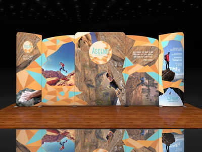 Ascend Climbing Co. Wave System climbing photography design