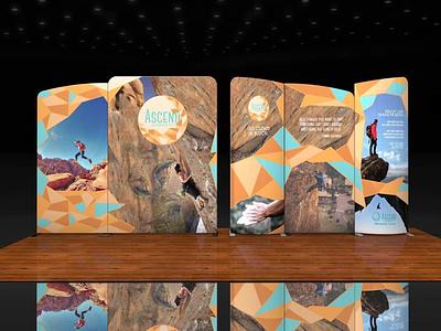 Ascend Climbing Co. Wave System No. 2 climbing photography design