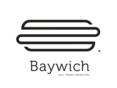 Baywich • Well Tanned Sandwiches grill line restaurant food sandwiches logo greece rethymno crete