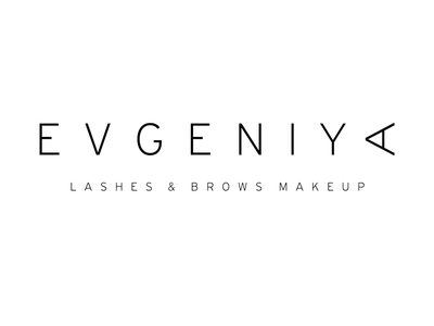 EVGENIYA eye artist makeup browse lashes logo