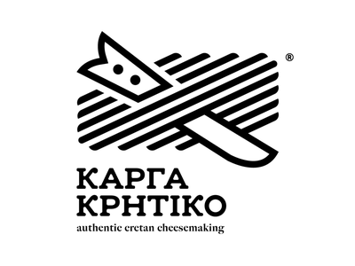 Karga Kritiko crete rethymno belt knife cheese logo