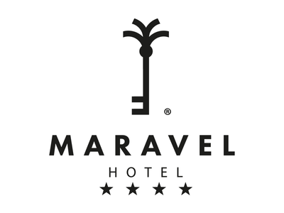 Maravel Hotel key tree palm hotel greece rethymno logo crete