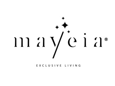 Mayeia • Exclusive Living (Client's Pick) stick stars hosting crete rethymno residence greece logo hotel magic wand