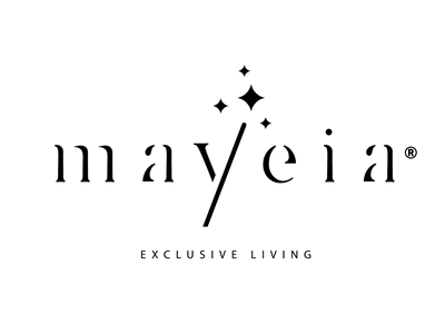 Mayeia • Exclusive Living (Client's Pick) stick stars hosting crete rethymno residence greece logo hotel magic wand